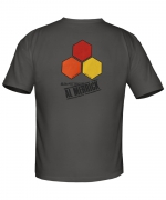 Mens Curren Hex Regular Fit Tee