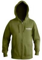 Mens Media Full Zip Hooded Fleece