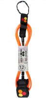 CI Hex Cord Big Wave Leash 12'