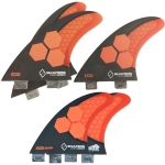 Shapers dual tab Stealth AM2 5 Fin Set